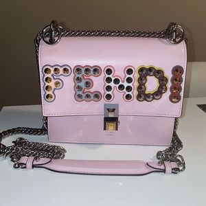 Fendi Kan I Small Studded Crossbody